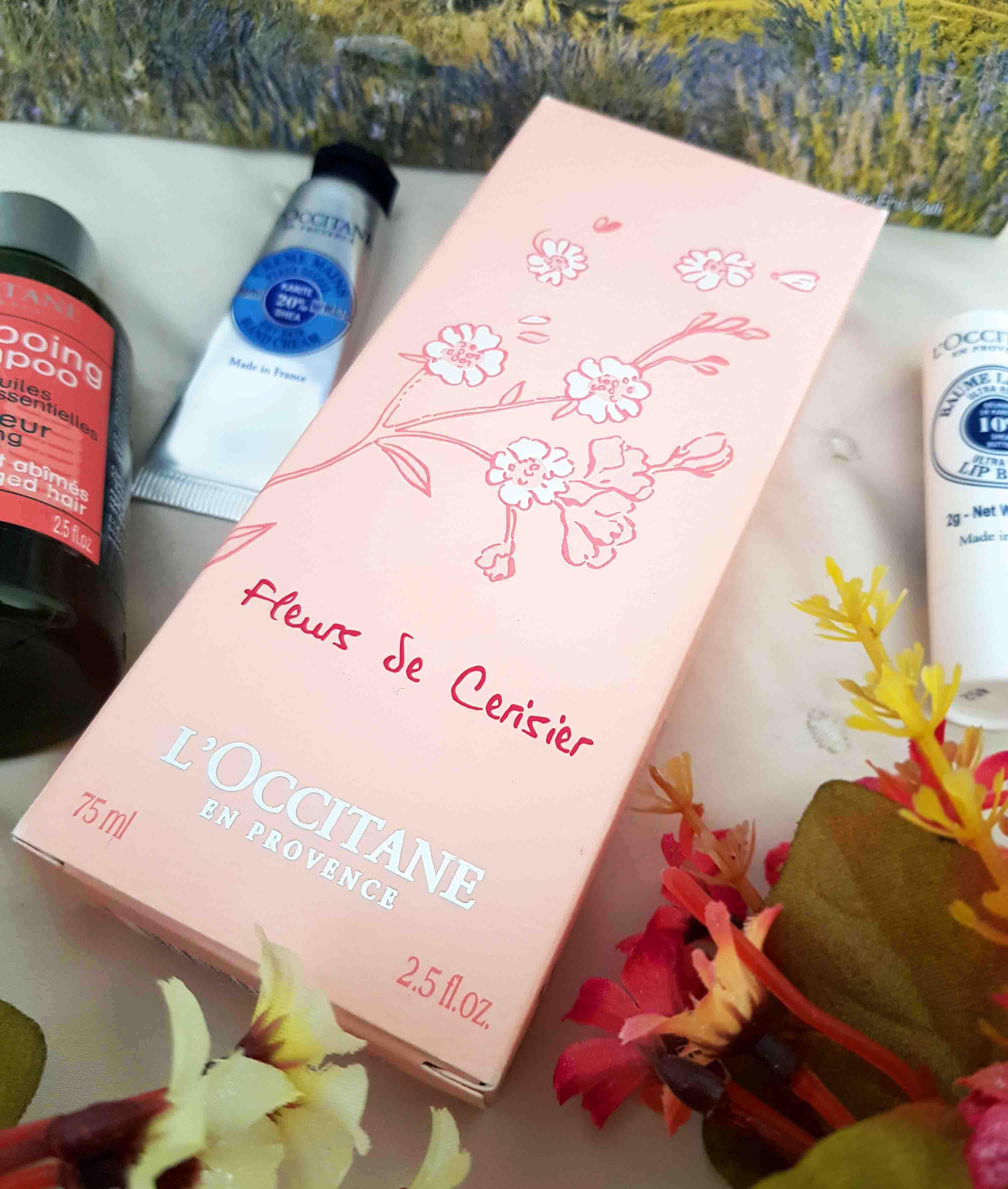 Tem Na Web - Perfume Flor de Cerejeira da L?Occitane en Provence